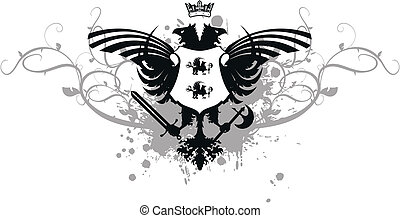 heraldic eagle double head09 - heraldic eagle double head in...