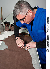 Leather manufacture - Skilled leather manufacture worker...