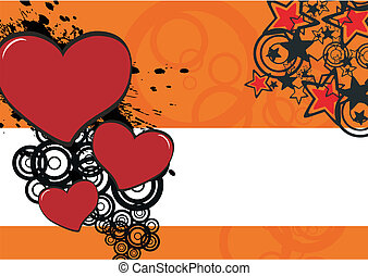 cartoon heart background8 - cartoon heart background in...