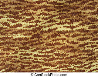 Brown and yellow multicolored fabric background - Brown and...