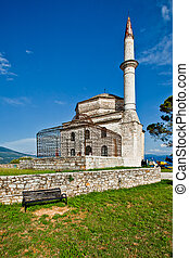Mosque in Ioanina, Greece - Old mosque in the town Ioanina,...