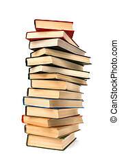 book stack