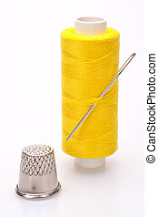 spool of thread for sewing