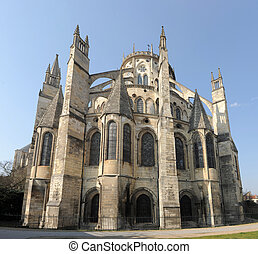 Cathedral of Bourges - beautiful Cathedral of Bourges in...