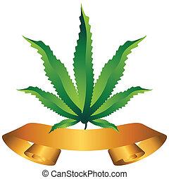 Marijuana, icona