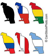 Andean Condor flags