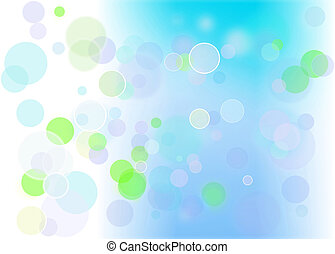 abstract circles background in different colors and textures