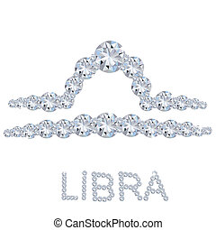 Diamond Zodiac Libra