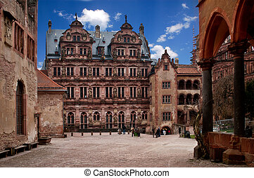 Heidelberg Castle - The old castle of Heidelberg in Germany
