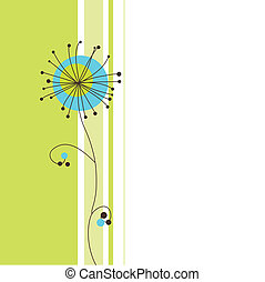 Dandelion - Card with copy space