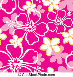 Seamless Sandy Beach Pattern - Illustration of a seamless...