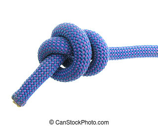 stopper knot in climbing rope