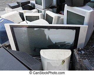 垃圾, 電腦