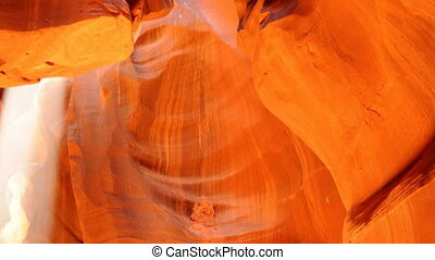 Antelop Canyon on the Navajo Nation reservation in Arizona