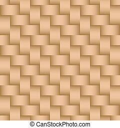 Seamless Basketweave Background Texture