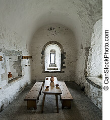 Dover Castle Guard Room