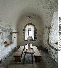 Dover Castle Guard Room