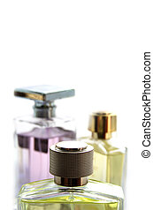Men Parfum - Mens parfum located on the white background
