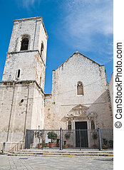 Mother Church. Polignano a Mare. Apulia.