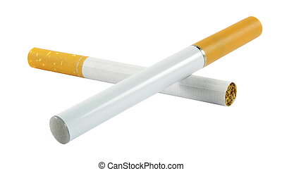Electronic and regular cigarette - Electronic cigarette with...