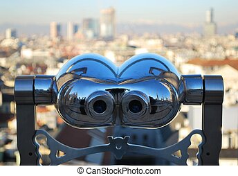 Telescope looking Milan - Binoculars telescope looking Milan...