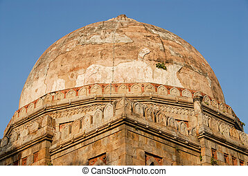Indian architecture - A Mughal tomb at the beautiful Lodi...
