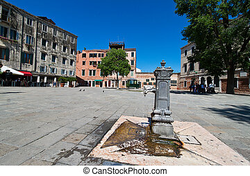 Italy, Venice. Jewish quarter, ghetto - The lovely city of...