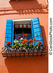Italy, Venice Burano - The lovely city of Venice in Italy...