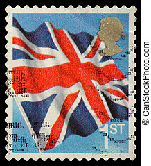 Postage Stamp - UNITED KINGDOM - CIRCA 2001: An English Use...