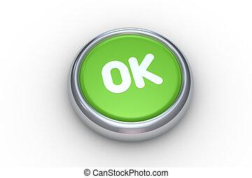 押し, ボタン, オーケー