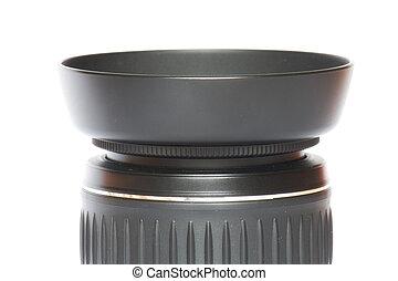 Camera lens - Close-up of a camera lens