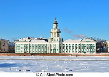 St. Petersburg. Kunstkammer, 18 century - St. Petersburg....