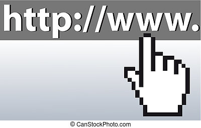 Mousefinger on URL