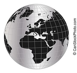 Globe in net