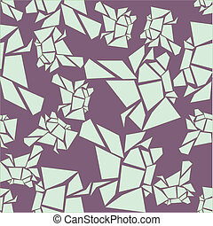 seamless lavender glacier pattern - unusual vector...