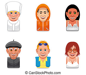 Avatar people icons