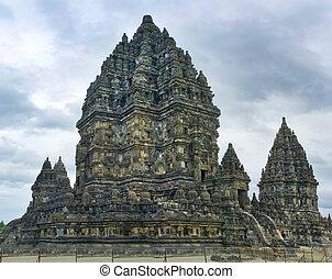 Prambanan temple. Yogyakarta