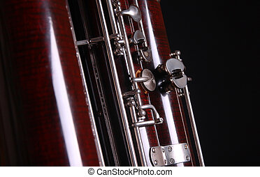 contra bassoon orchestra classical woodwind black
