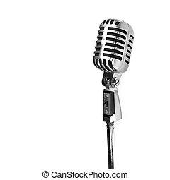 microfone, vindima