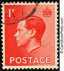 Postage Stamp - UNITED KINGDOM - CIRCA 1936: An English One...