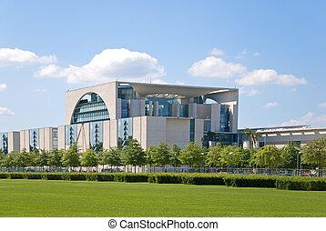 bundeskanzleramt - Bundeskanzleramt im Sommer, Berlin,...