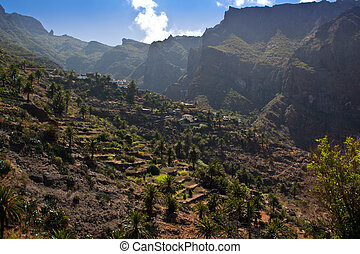 Tenerife, Masca valley.