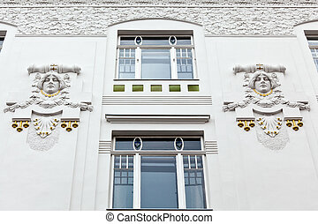 Beautifully renovated art nouveau building - A beautifully...