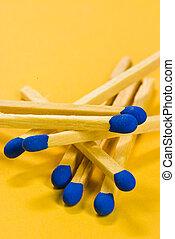 Blue matches