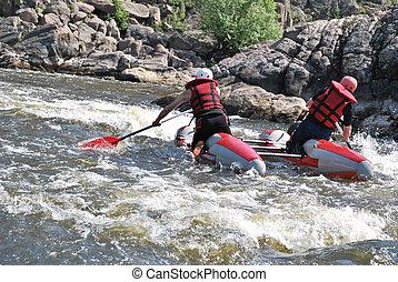Kayaking. Rafting.