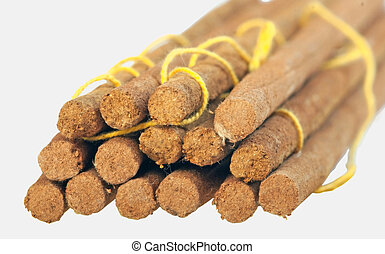 Aroma sticks with clipping path