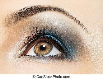 美麗, 眼睛