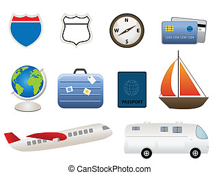Travel related items - Travel and tourism related items