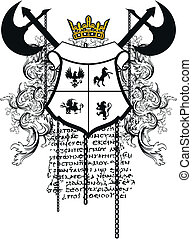 heraldic coat of arms ornament 6