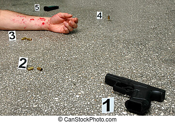 Murder -place of shooting